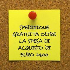 Da #LineaEmmezetaParfum la spedizione dei profumi è gratuita oltre la spesa di acquisto di € 24,00. sito di vendita on-line www.lineaemmezeta.it