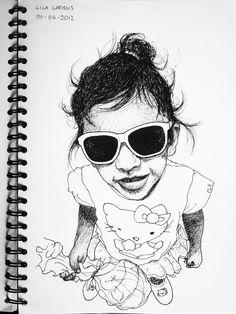 Lila, Ink