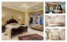 Dormitoare decorate in stil frantuzesc pentru un plus de romatism