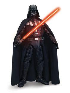 Figura Darth Vader interactiva 43 cm. Con luz y sonido. Star Wars. Thinkway Toys Estupenda y esperada figura del personaje de Darth Vader interactivo de 43 cm de altura, con efectos de luz y sonido, 100% oficial y licenciada con el que los peques fans de la saga seguro se lo pasarán de miedo jugando.