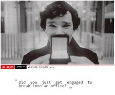 Oh Sherlock... Molly will slap you again if she finds out!<<< she's not the only one!!!