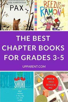 Parents share their favorite chapter books for third grade, fourth grade, and fifth grade. The best books for kids who love to read, and kids who need some encouragement. 3rd Grade Chapter Books, Third Grade Reading, 4th Grade Book List, Kids Chapter Books, Fourth Grade Writing, Kids Book Club, Book Club Books, Book Lists, Children's Books