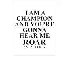 """""""Roar,"""" Katy Perry lyrics"""