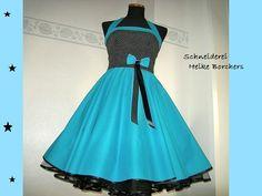 Petticoatkleid 50er-Jahre Kleid Lara von Schneiderei Heike Borchers auf DaWanda.com