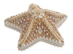Judith Leiber Starfish clutch bag