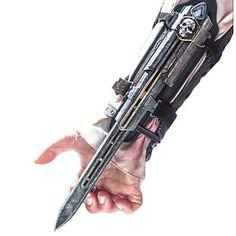 pirata credo lâmina escondida manopla cosplay arma do assassino de 2015 por R$91,40