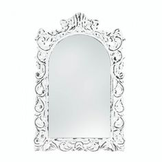 Good News! Just got the : Distressed White ... in! Check it out ! http://www.usmartny.com/products/distressed-white-ornate-wall-mirror-10018066?utm_campaign=social_autopilot&utm_source=pin&utm_medium=pin