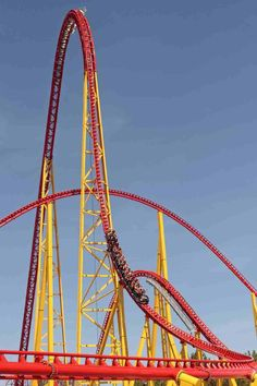 Want to ride this!!! Kings Dominion Intimidator 305. Only like the coolest roller coaster ever!
