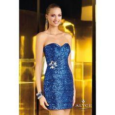 The Hottest Dress Designer hands down! Alyce Paris.  Check out their dresses at alyceparis.com Homecoming Dress Style #4346 #http://pinterest.com/alyceparis