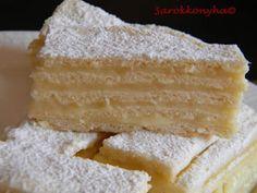 Sarokkonyha: Hófehérke Hungarian Recipes, Vanilla Cake, Party Time, Latte, Cake Recipes, Food And Drink, Cookies, Sweet, Blog