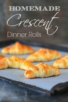 Easy Homemade! Crescents Recipe