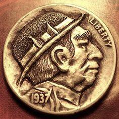 Eric Truitt - Classy Classic Hobo Nickel, Buffalo, Classic Style, Coins, Classy, Rooms, Chic, Water Buffalo