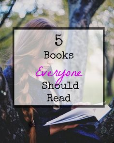 There are certain books that should be required reading...Here are the top 5! #beauty #blog