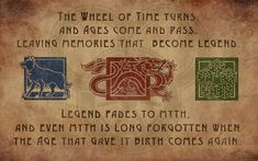 The Wheel of Time - Ta'veren Icon Wallpaper [1280x800]