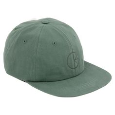 Polar Skate Co Stroke Logo Cap in Teal