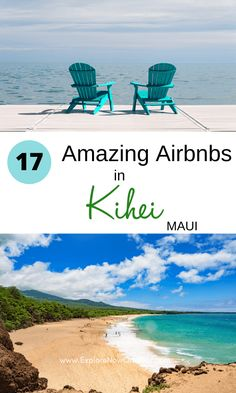Looking for the perfect Airbnb in Kihei? These are the most beautiful condos, cottages, and beachy retreats to make all your tropical fantasies come true. Read more here. Where to stay in Maui | Kihei Airbnb | Maui vacation rentals | Maui travel tips | Maui accommodations Best Maui Resorts, Best Vacations, Maui Vacation Rentals, Hawaii Vacation, Maui Travel, Travel Tips, Maui Accommodation, Maui Kihei, Ocean View Villas