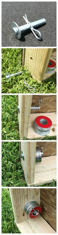 Washer Locker Washer Toss Game Metal Washer by GetOutsideGames