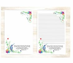 Printable Lined Paper, Free Printable Stationery, Printable Letters, Letter Writing Samples, Money Chart, Lined Writing Paper, Letterhead Design, Stationery Paper, Stationery Design