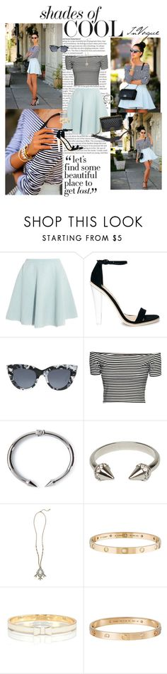 """""""😇"""" by silverflower96 ❤ liked on Polyvore featuring ASOS, Sonia by Sonia Rykiel, Chanel, H&M, Vita Fede, Rebecca Taylor, Chloe + Isabel, Cartier, Kate Spade and Penny Preville"""