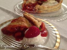Strawberry Pie with vanilla ice cream |Pinned from PinTo for iPad|