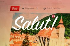 Salut! Pinterest is available in Romanian, via the Official Pinterest Blog