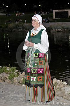 Lithuanian Folklore Dancer