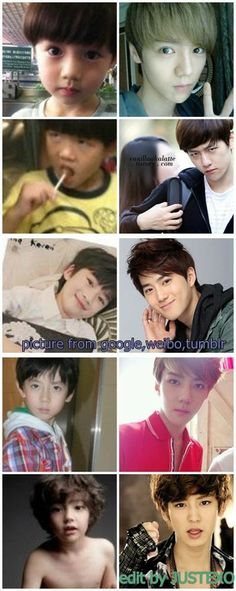exo chanyeol look alike - Google Search. Those boys are going to get all the ladies when they grow up.