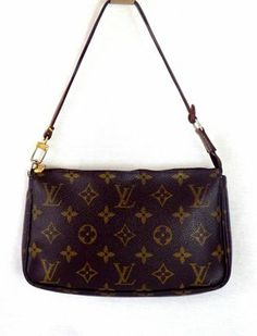 Louis Vuitton Wristlet in Brown - Perfect for the theater or a run to the mall..