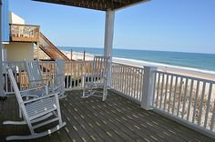 Portals | Oceanfront/Oceanside Vacation Rental | North Topsail Beach, NC No pool. Very good price for our week though.