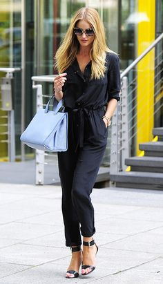 Rosie Huntington-Whiteley style...