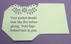 Scrappin' Nana: MS Pocket Tutorial Part 2 Card Making Tutorials, Card Making Techniques, Craft Tutorials, Making Ideas, Old Greeting Cards, Greeting Cards Handmade, Envelope Maker, Craft Punches, Shaped Cards