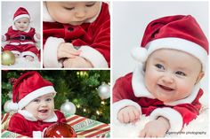 South Florida Photographer | Christmas Infant Photos | Genny Lynn Photography | Weddings | Seniors | Family Portraits | Newborns | Hollywood | Ft. Lauderdale | Poses | Collages
