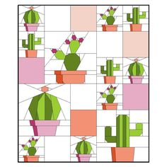 This listing is for one, three page .pdf (electronic) pattern of three designs. The succulent trend is sweeping the nation! It's no wonder as...