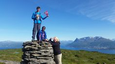 From our new Geocaching power cache trail from Herjangen to Veggen in Ofoten fjords, besides Narvik town - ready for visit this summer.  Camping will be possible in the moutains.  Norway - Nothern Norway GC612Z7