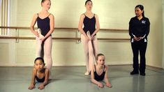 Back Stretching for Ballet Dancers : Ballet Lessons by eve