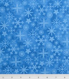Holiday Inspirations Fabric-Snowstorm Glitter