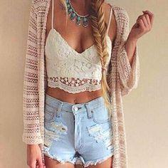 New Sexy Women Crochet Cami Bustier Tank Lace Floral Vest Blouse Shirt Bralette Bra Crop Top