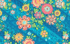 Heirloom in Blue Sky from Amy Butler's Lark collection  Fat Quarter. $2.50, via Etsy.