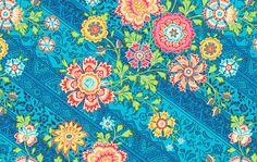Cotton Fabric - AMY BUTLER Lark Collection - Heirloom Blue Sky - 1 Yard Cut. $8.90, via Etsy.