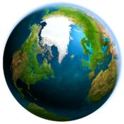 Earth 3D v2.0.0 - Turn your monitor into a realistic space