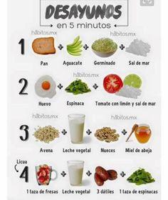 Desayunos en 5 minutos