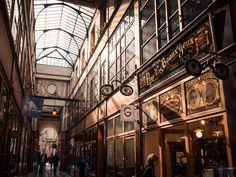 © Omagazine Il Passage du Grand Cerf a Etienne Marcel Paris At Night, Rue Montorgueil, Paris Shooting, Plan Paris, Paris Tips, Cultural Architecture, Paris Photography, Vintage Paris, Paris Photos