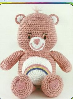 The Vintage Toy Chest: Crochet Patterns. I have to make this care bear! by wwjdmom