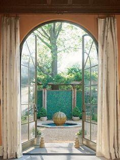 colby design doors.  Houston - International Design - Michael Dale - Veranda.com