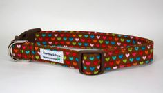The Sweetheart Dog Collar  Free US Shipping by 4BlackPaws on Etsy, $17.50
