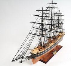 Cutty Sark Tea Clipper Model, Clipper Ship Model, Model Ship, Wood Model