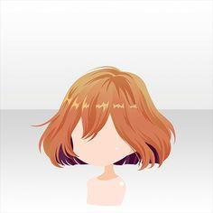 (๑•̀ㅂ•́)و✧ Anime Poses Reference, Hair Reference, Character Drawing, Character Design, Female Anime Hairstyles, Chibi Hair, Pelo Anime, Manga Hair, Fantasy Hair