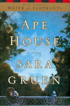 Ape House by Sara Gruen -- Isabel Duncan, a scientist at the Great Ape Language Lab, doesn't understand people, but apes she gets—the bonobos Sam, Bonzi, Lola, Mbongo, Jelani, & Makena, who are capable of reason  through sign language. Isabel feels more comfortable in their world than she's ever felt among humans—until she meets a reporter writing a human interest feature. Isabel must connect with her own kind to save her family of apes from a new form of human exploitation.