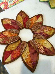 Fold 'n Stitch Leaf Topper