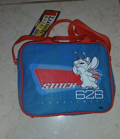 DISNEY LILO & STITCH 626 EXPERIMENT LUNCHBOX WITH THERMO NEW WITH TAG RARE #Globo Disney Lunch Box, Lunch Boxes, Lilo And Stitch, Experiment, Ebay, Lelo And Stich